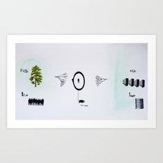 true/false Art Print