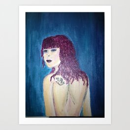 Inspired by Ariel Art Print