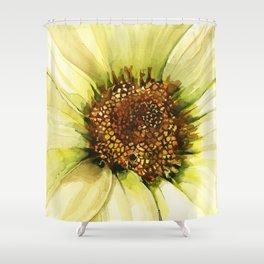 Daisy Disc Florets Shower Curtain