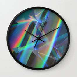 Diffracted Dreams Wall Clock