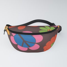 Peace, Love + Daisies Fanny Pack