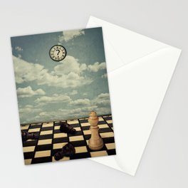 mystic chess room Stationery Cards