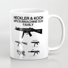 MP5 SUBMACHINE GUN FAMILY Coffee Mug