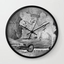 phenix's birth Wall Clock