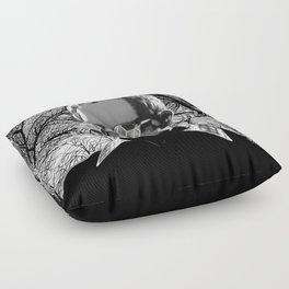 My friend Mis`ao Floor Pillow