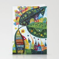 snail Stationery Cards featuring Snail by Annabies