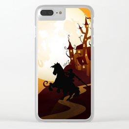 Zelda Link - Nightmare Clear iPhone Case