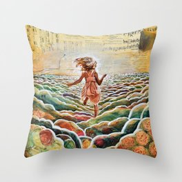 Heavenly Places Throw Pillow