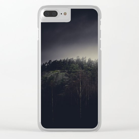 One final mountain to go Clear iPhone Case