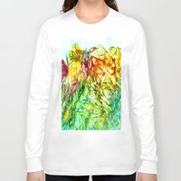 kaleidoscope Long Sleeve T-shirts featuring Kaleidoscope by Rosie Brown