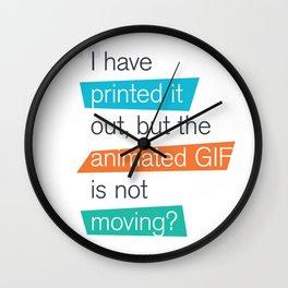 animated GIF  Wall Clock