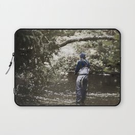 Trout River Fishing Laptop Sleeve