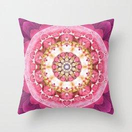 Flower of Life Mandalas 5 Throw Pillow