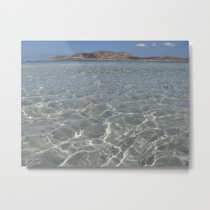 stintino beach Metal Print