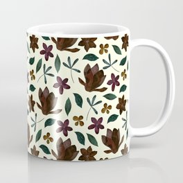 Fall Flower Garden Coffee Mug