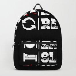Eat Sleep Hockey | Player Gift Idea Backpack