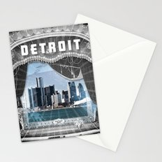 The Big Show - Detroit, Michigan Stationery Cards