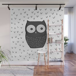 Floating Owl Wall Mural