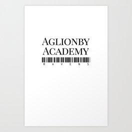 Aglionby Academy (TRC) Art Print