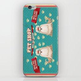 Retro Best Pet Award iPhone Skin