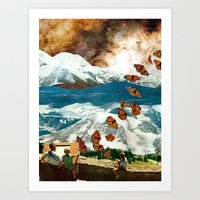 great migration Art Print
