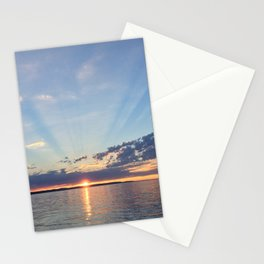 A Seattle Sunset Stationery Cards