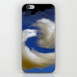 """Restless Love Clouds"" iPhone Skin"