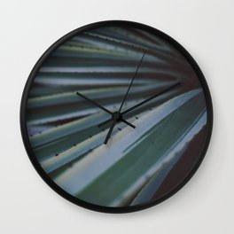 Soothing Succulent Wall Clock