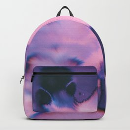 water color wave III collab Dylan Silva Backpack