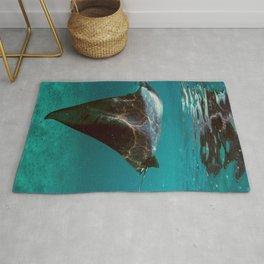 Manta rays Rug