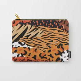 Animal Kingdom African Hide pattern Carry-All Pouch