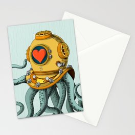 I'm falling in love with you? (left) Stationery Cards