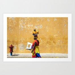 Palenquera Art Print