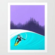 Up North - Part 2 Art Print