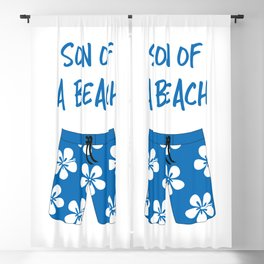 Son Of A Beach Blackout Curtain