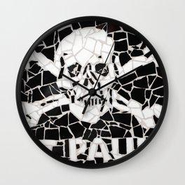 """""""St Pauli"""" Unique mosaic Wall Clock"""
