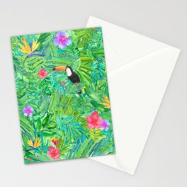 Foret tropicale Stationery Cards