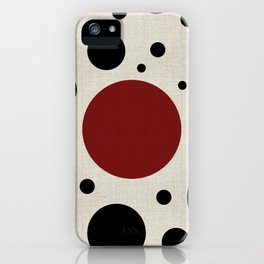 """Abstract Japanese Cow"" iPhone Case"