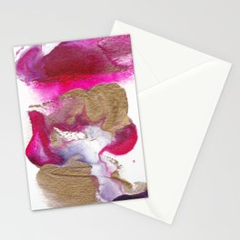 Eloise Abstract Painting Stationery Cards