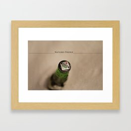 Natures Fridge Framed Art Print