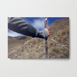 Hike it Metal Print