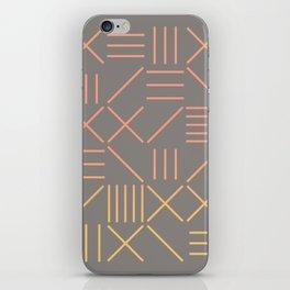 Geometric Shapes 12 Gradient iPhone Skin