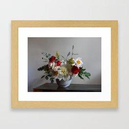 Flower Design 4  Framed Art Print