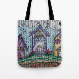 Lil' Village Tote Bag