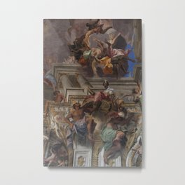 Sant'Ignazio Church 2, Rome Metal Print