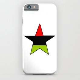 flag of libya 3-Libyan,Tripoli,benghazi,misurata,bayda,cyrenaica iPhone Case