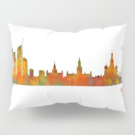 Moscow City Skyline art HQ v1 Pillow Sham