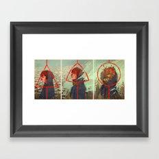 Sustained Self Framed Art Print