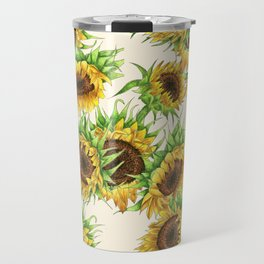 Sunflower Bouquet Travel Mug