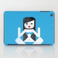 bikini iPad Cases featuring Bikini (04) by Marco Recuero